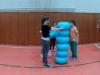 Žactvo - cvičení s donuty
