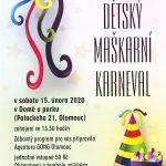 Pozvánka na Dětský karneval 15. 2. 2019